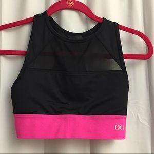 NWOT Pink small sports bra